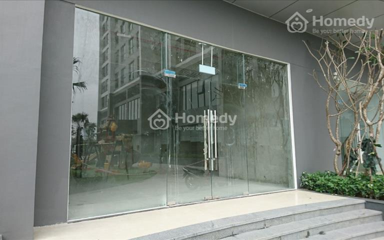 Cho thuê mặt bằng thương mại tầng 1 mặt đường Lương Thế Vinh dự án Vinhomes Green Bay Mễ Trì, 55m2