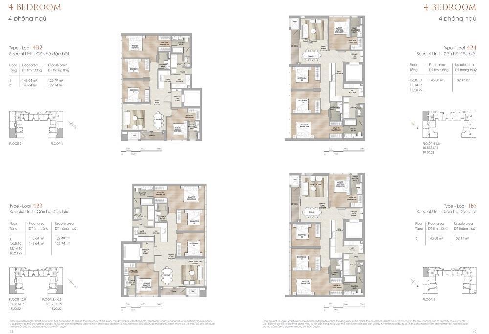 Thiết kế căn hộ điển hình