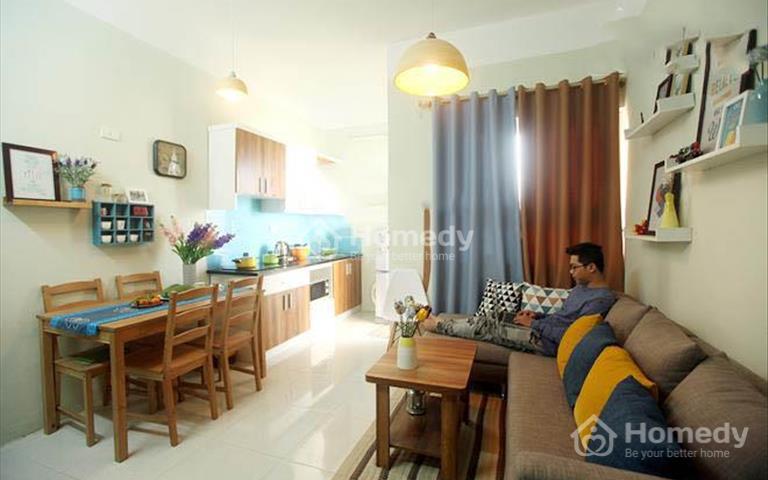 Căn hộ chung cư Hà Đô Nguyễn Văn Công, nội thất full, giá 12,5 triệu/tháng