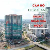 Bán Homyland 3 với giá tốt nhất quận 2 với 3 mặt tiền, sở hữu view sông, khả năng sinh lời cao