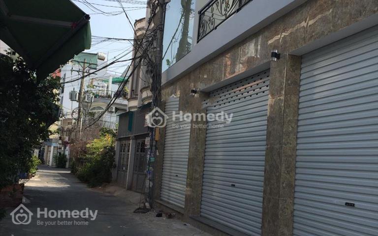 Cho thuê nhà 2 tấm, hẻm xe hơi đường Tô Hiệu, Phú Trung, Tân Phú