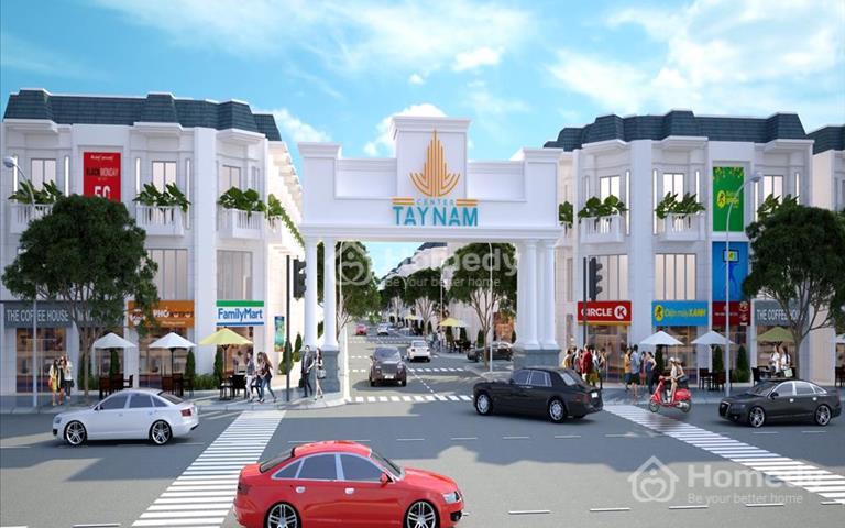 Mở bán giai đoạn 1 Tây Nam Center, 649 triệu, 80m2, Nguyễn Trung Trực khu công nghiệp Thuận Đạo