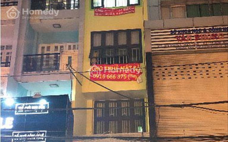 Cho thuê mặt bằng và tầng lầu mặt tiền Nguyễn Thiện Thuật, Phường 1, Quận 3