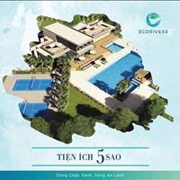 Biệt thự song lập Ecorivers Hải Dương, giá gốc Chủ đầu tư, 25.5 triệu/m2 đã bao gồm xây thô