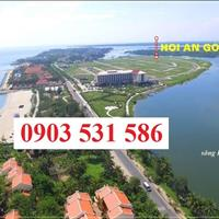 Bán đất 2 mặt tiền khu đô thị Phước Trạch Phước Hải, Cửa Đại, Hội An, cạnh khách sạn Mường Thanh