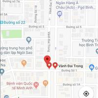 Bán đất Bình Tân 2 mặt tiền giá rẻ thích hợp xây khách sạn, kinh doanh