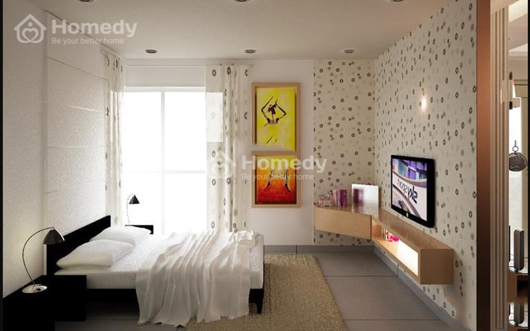 Cho thuê căn hộ chung cư Khuông Việt Quận Tân Phú 74m2, 2 phòng ngủ, 2WC