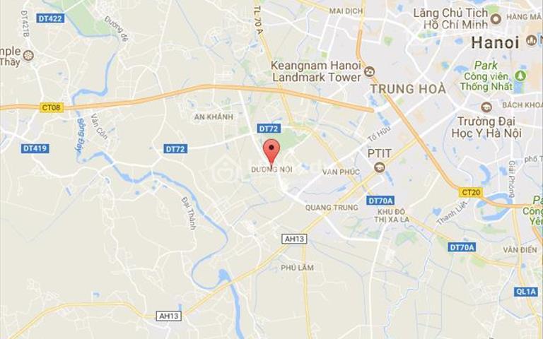 Cho thuê sàn tầng 1 chung cư 60m2 tại khu vực Dương Nội, HàĐông, Hà Nội