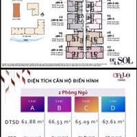 Bán căn hộ De La Sol, tháp Cello – 02 phòng ngủ, tầng cao thoáng