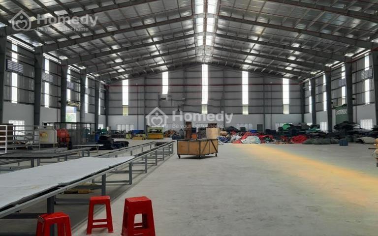 Cho thuê nhà xưởng 6000m2, trong khu công nghiệp Tân Đô, huyện Đức Hòa