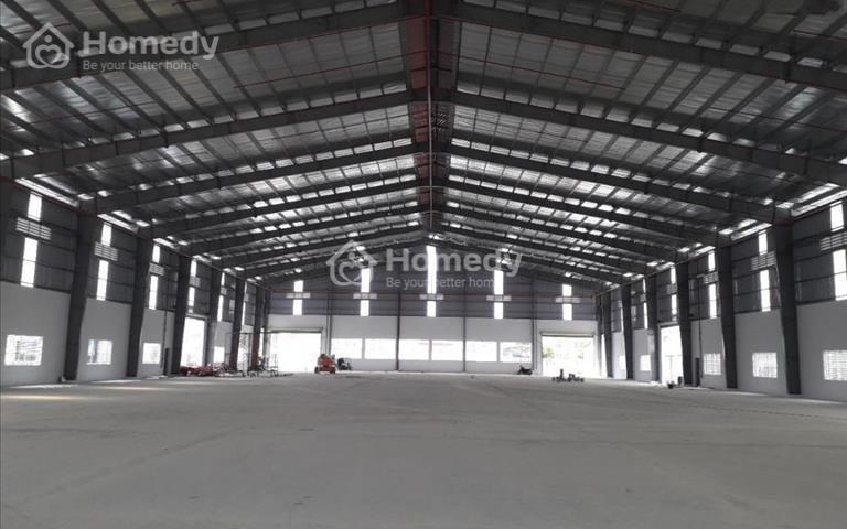 Cho thuê nhà xưởng 4200m2 trong khu công nghiệp Tân Đô, Đức Hòa