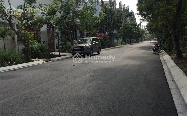 Bán lô góc đường lớn khu dân cư 13B Conic, 147,5m2 hướng Đông Bắc giá 44 triệu/m2