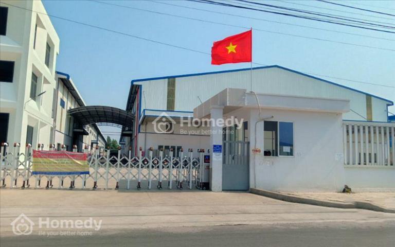 Cho thuê kho 16.000m2 gồm 7.000m2 xưởng và 700m2 văn phòng tại khu công nghiệp Tân Đô, Long An