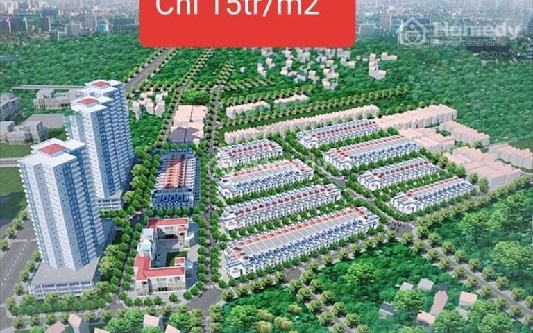 Đất nền Bà Rịa Residence giá chỉ 14,8 tr/m2, chỉ còn 5 lô suất ngoại giao giá ưu đãi, CK khủng
