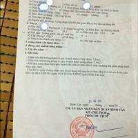 Cần bán gấp nhà Bình Hưng Hòa, Bình Tân, 30m2, sổ hồng riêng