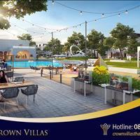 Thông tin bảng giá, quỹ căn dự án khu đô thị Thái Hưng - Crown Villas Thái Nguyên