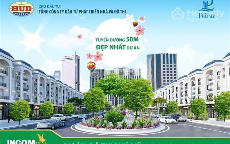 Chính thức triển khai trục đường 50m, vị trí đẹp nhất tại dự án khu đô thị Phú Mỹ, Quảng Ngãi
