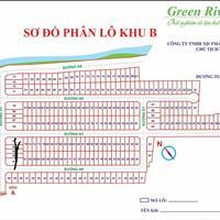 Đất sổ trao tay Green Riverside Anh Tuấn Nhà Bè khu B đường 8m, giá 35 triệu/m2