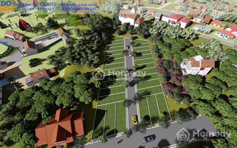 Đất nền Hòa Lạc - dự án Capital 3 - cơ hội đầu tư siêu tiềm năng