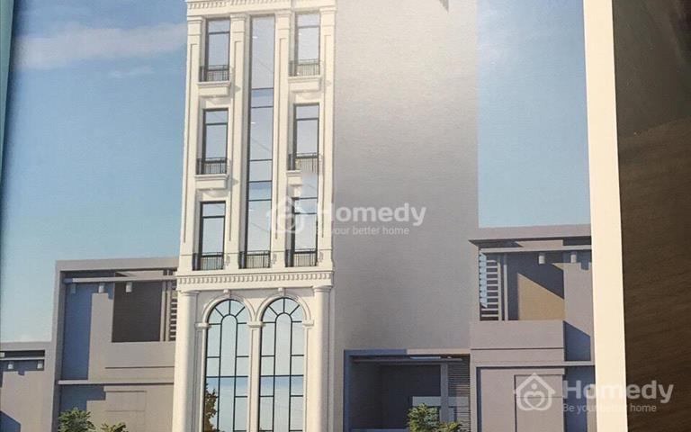 Cho thuê nhà mặt phố Lạc Trung, diện tích 90m2 x 8 tầng, mặt tiền 5,5m