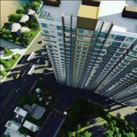 Chỉ còn 4 căn Vista 58m2, 2 phòng ngủ, 2WC, giá gốc chủ đầu tư 18,7 triệu/m2 ngay sông Sài Gòn
