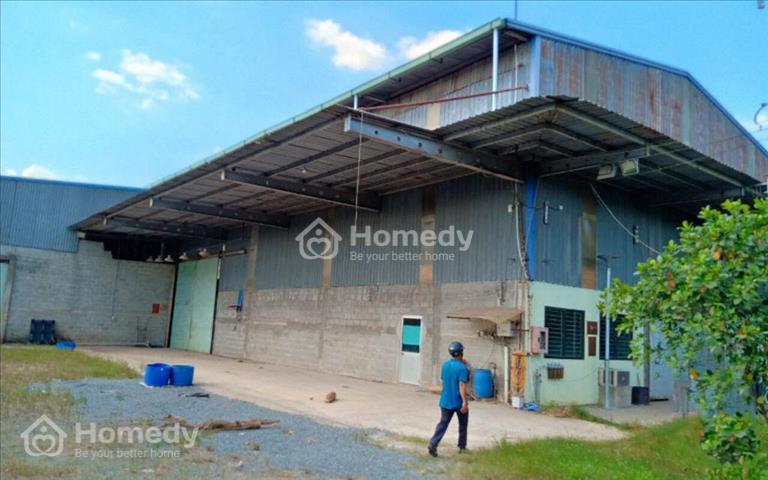 Cho thuê kho 2000m2 tại xã Đức Hòa, Long An giá 50 triệu/tháng