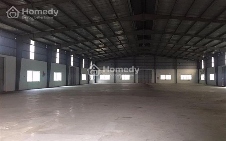 Cho thuê kho xưởng diện tích 1500m2 tại thị trấn Chúc Sơn, Chương Mỹ, Hà Nội