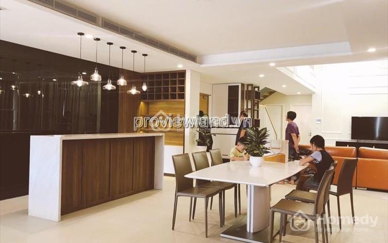 Cho thuê căn hộ Duplex Diamond Island 4 phòng ngủ 300m2 full nội thất