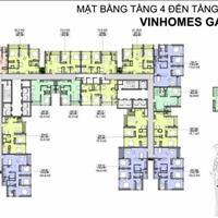 Bán căn 2 phòng ngủ dự án Vinshomes Gardenia Hàm Nghi