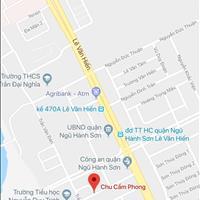 Bán gấp lô đất đường Chu Cẩm Phong khu vực bãi tắm Sơn Thủy, giá 40 triệu/m2