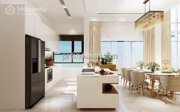 Cho thuê căn Skyvilla tại Diamond Island 4 phòng ngủ 2 tầng hồ bơi sân vườn riêng