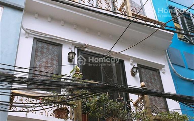 Nhà đẹp hiện đại, Hoàng Mai, ô tô 7 chỗ phi thẳng vào nhà