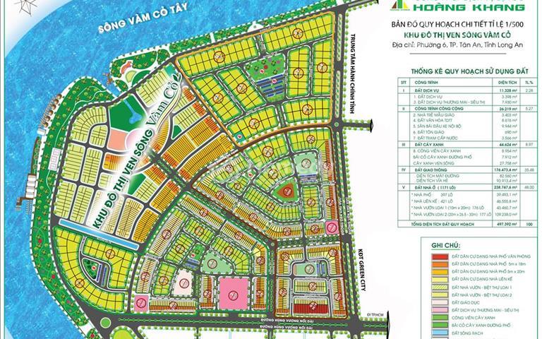 Cơ hội vàng sở hữu đất nền khu hành chính mới tỉnh Long An với giá cực tốt