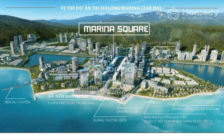 Marina Square Hạ Long, khách sạn mini ngay sát biển, hỗ trợ vay 70% lãi suất 0%