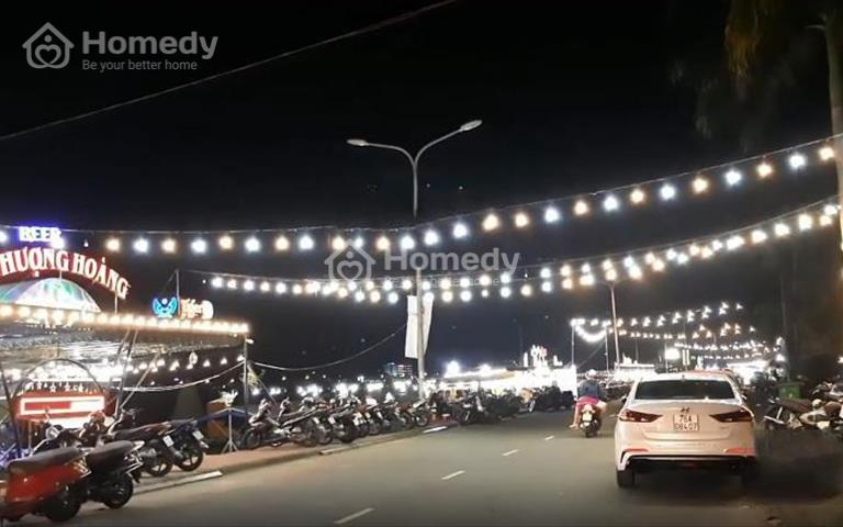 Cho thuê đất kinh doanh quán ăn chợ đêm Sông Trà, thành phố Quảng Ngãi