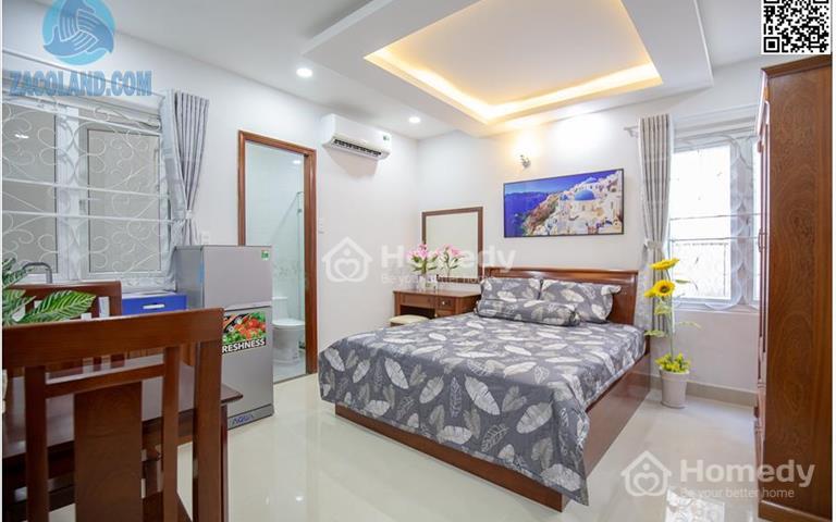 Căn hộ Studio giá rẻ tại quận 3, full nội thất, mặt tiền đường Hoàng Sa, gần chợ Phạm Văn Hai