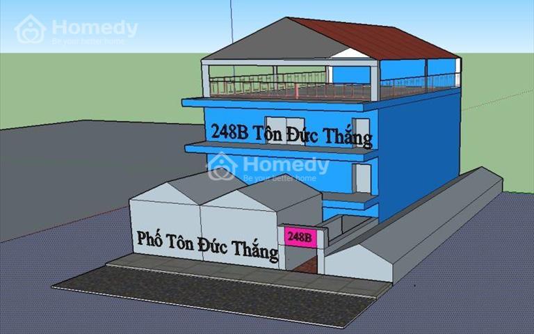 Cho thuê nhà phố Tôn Đức Thắng, gần ngã 5 Ô Chợ Dừa