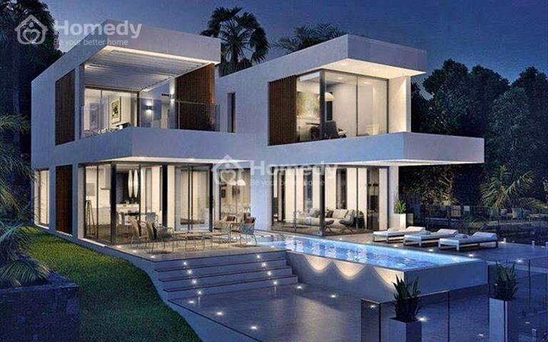 Cho thuê biệt thự đơn lập khu Cảnh Đồi, Phú Mỹ Hưng, nhà đẹp, giá rẻ 35 triệu/tháng