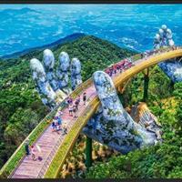 Sốt đất khu biệt thự vườn Bà Nà Hills, sân golf tập đoàn Sungroup tiện kinh doanh du lịch