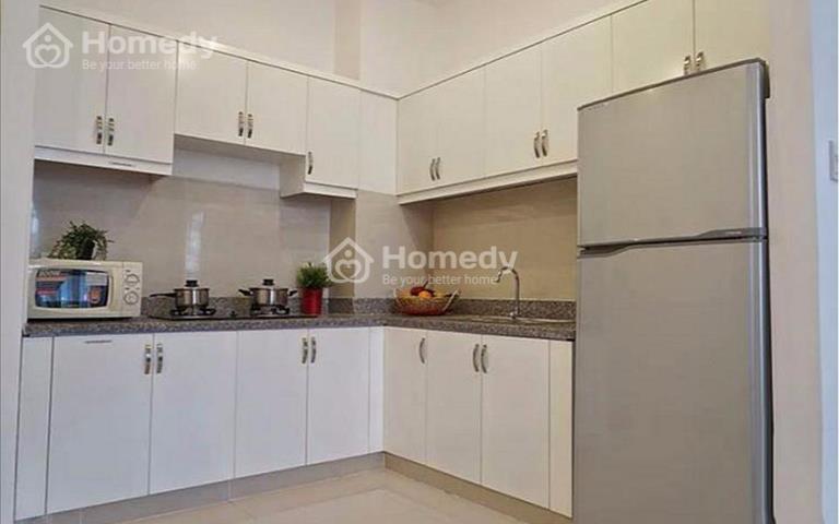 Cho thuê nguyên căn hộ 8X Đầm Sen, 1 phòng ngủ, giá 6.5 triệu/tháng