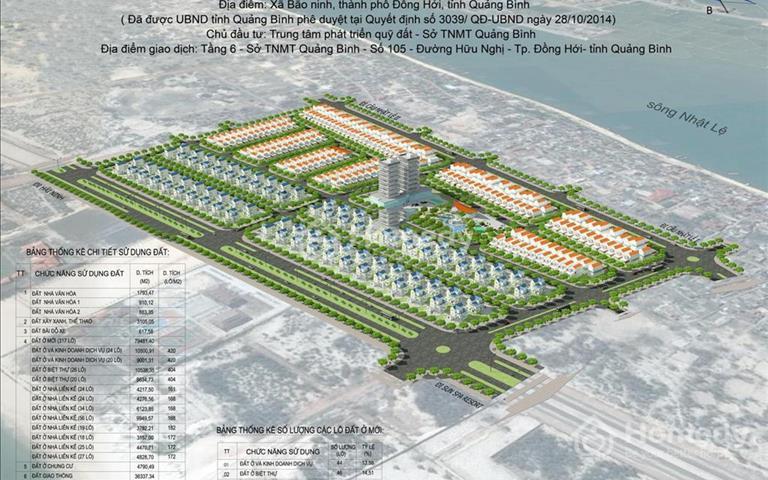 Đất dự án trung tâm Đồng Hới giá tốt liên hệ để được tư vấn nhiệt tình