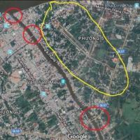 Đất sổ đỏ thành phố Vĩnh Long, mặt tiền đường 30m, sát sông, chỉ 850 triệu/nền