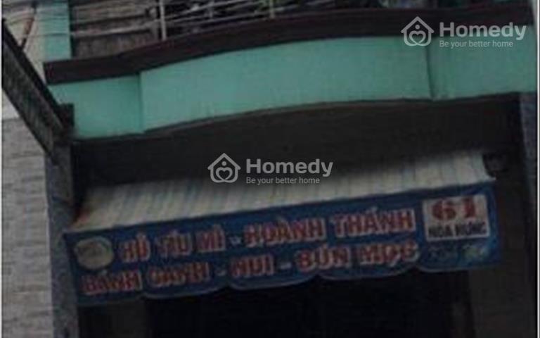 Cho thuê nhà mặt tiền Vĩnh Viễn, Quận 10, diện tích 4x12m giá 35 triệu/tháng