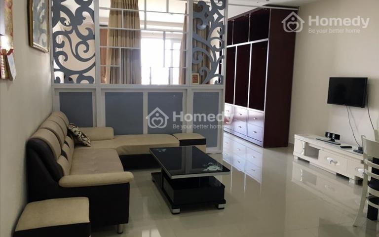Cho thuê căn hộ An Phú Apartment quận 6, 1 phòng ngủ, đủ nội thất, giá 10 triệu/tháng