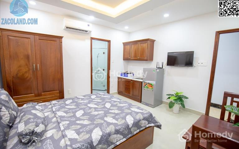 Căn hộ Hoàng Sa full nội thất có cửa sổ thoáng mát trung tâm quận 3