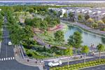 An Lạc Green Symphony tọa lạc tại phía Tây thủ đô Hà Nội, do công ty cổ phần đầu tư An Lạc làm chủ đầu tư