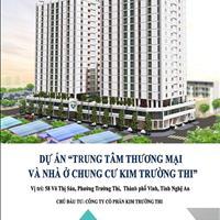 Bán căn hộ tại chung cư Kim Trường Thi - trung tâm thành phố Vinh