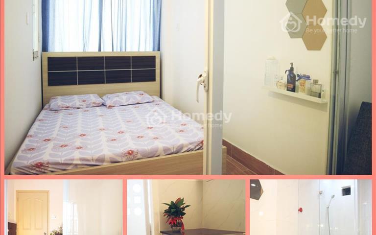 Căn hộ quận 11 28m2 full nội thất, 1 phòng ngủ, 1 phòng khách, bếp và ban công