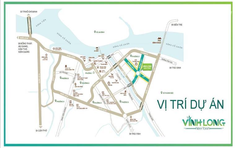 Hưng Thịnh mở bán đất nền giá rẻ sổ đỏ ngay trung tâm thành phố Vĩnh Long chỉ từ 8 triệu/m2