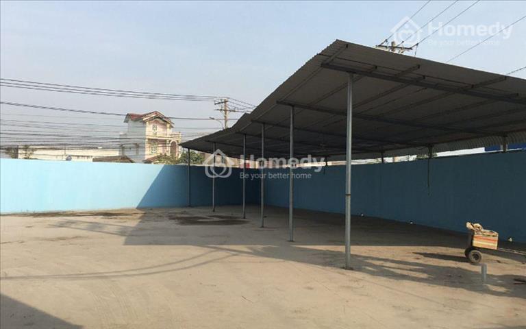 Cho thuê kho xưởng 4.000m2, giá 150 triệu/tháng tại xã Đức Hòa Đông - Long An